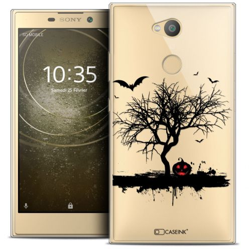 "Coque Crystal Gel Sony Xperia L2 (5.5"") Extra Fine Halloween - Devil's Tree"
