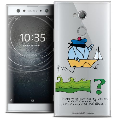 "Coque Gel Sony Xperia XA2 ULTRA (6"") Extra Fine Les Shadoks® - Il Faut Y Aller !!"