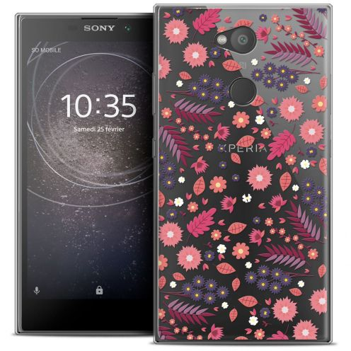 "Coque Crystal Gel Sony Xperia L2 (5.5"") Extra Fine Spring - Printemps"