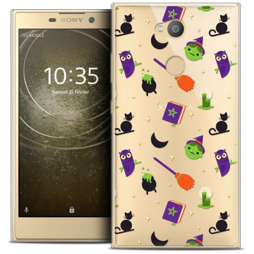"""Coque Crystal Gel Sony Xperia L2 (5.5"""") Extra Fine Halloween - Witch Potter"""