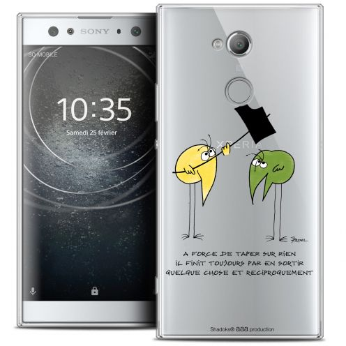 "Coque Gel Sony Xperia XA2 ULTRA (6"") Extra Fine Les Shadoks® - A Force"