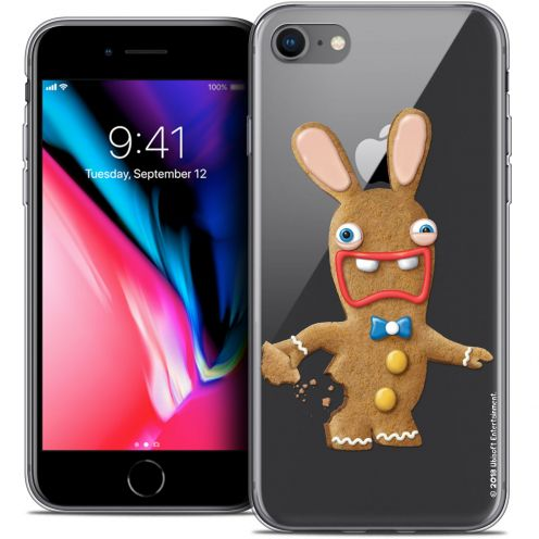 """Coque Gel Apple iPhone 7 (4.7"""") Extra Fine Lapins Crétins™ - Cookie"""