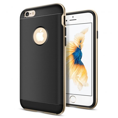 Coque Apple iPhone 6/6s (4.7) Neo Bumper Hybrid Series Or Champagne