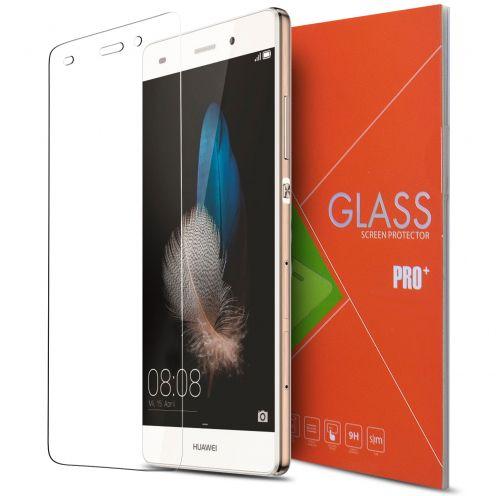 Vue détaillée de Protection d'écran Verre trempé Huawei Ascend P8 Lite - 9H Glass Pro+ HD 0.33mm 2.5D
