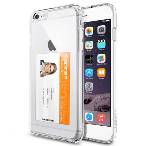 Coque iPhone 6 Plus SGP Spigen® Ultra Hybrid ID Crystal Clear