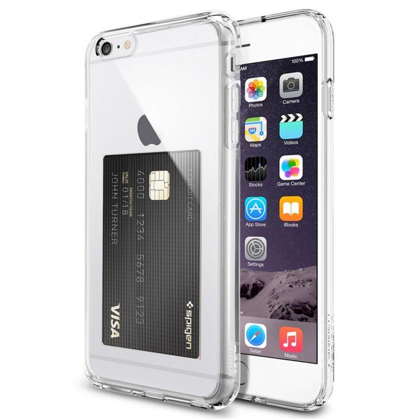 Coque iPhone 6 Plus SGP Spigen® Ultra Hybrid ID Crystal Clear