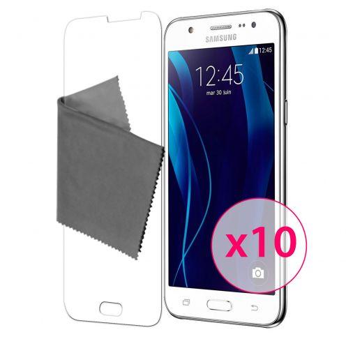 Zoom sur Films de protection Samsung Galaxy J5 Clubcase® 3H Ultra Clear HD Lot de 10