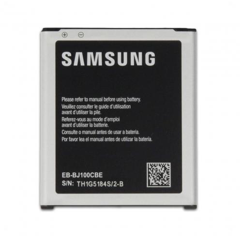 Vue détaillée de Batterie d'Origine Samsung EB-BJ100CBE Pour Galaxy J1 (1850mAh)