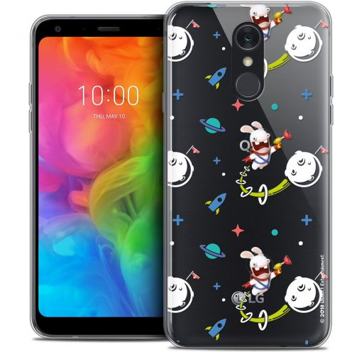"Coque Gel LG Q7 (5.5"") Extra Fine Lapins Crétins™ - Space 2"