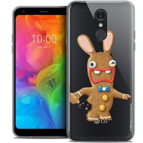 """Coque Gel LG Q7 (5.5"""") Extra Fine Lapins Crétins™ - Cookie"""