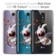 """Coque Gel LG Q7 (5.5"""") Extra Fine Lapins Crétins™ - Flying Cupidon"""