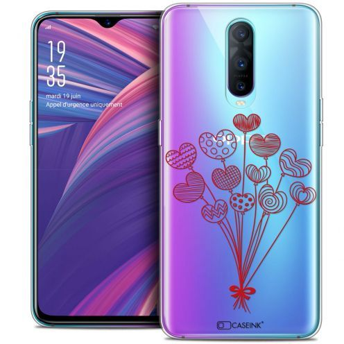"""Coque Crystal Gel Oppo RX17 Pro (6.4"""") Extra Fine Love - Ballons d'amour"""