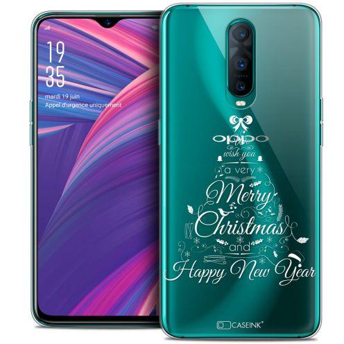 "Coque Crystal Gel Oppo RX17 Pro (6.4"") Extra Fine Noël 2017 - Calligraphie"