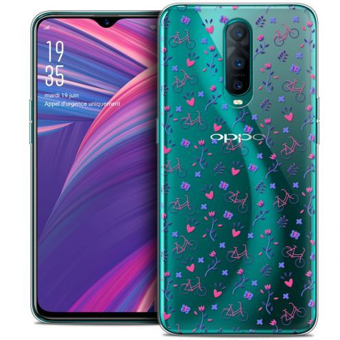 "Coque Crystal Gel Oppo RX17 Pro (6.4"") Extra Fine Love - Bicycle"
