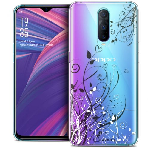 "Coque Crystal Gel Oppo RX17 Pro (6.4"") Extra Fine Love - Hearts Flowers"