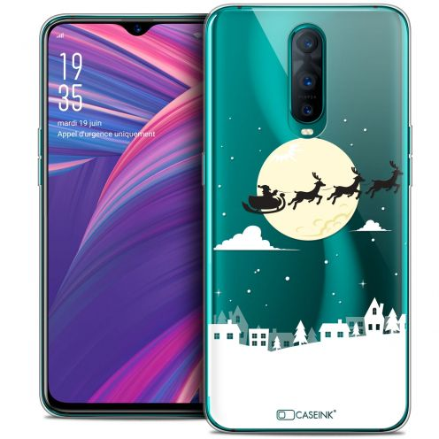 "Coque Crystal Gel Oppo RX17 Pro (6.4"") Extra Fine Noël 2017 - Flying Stanta"