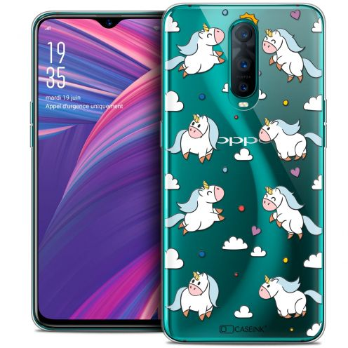 "Coque Crystal Gel Oppo RX17 Pro (6.4"") Extra Fine Fantasia - Licorne In the Sky"