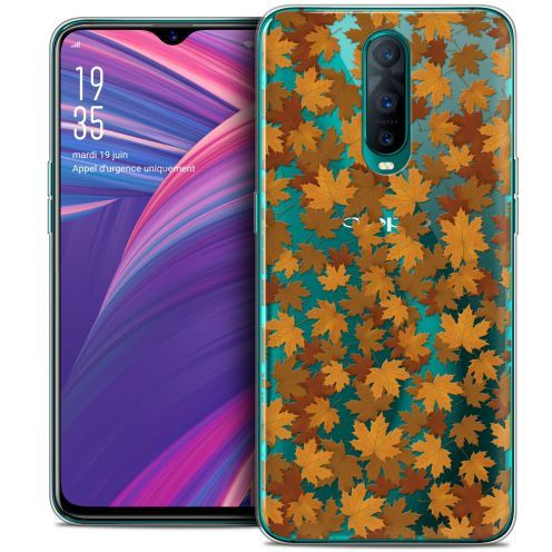 "Coque Crystal Gel Oppo RX17 Pro (6.4"") Extra Fine Autumn 16 - Feuilles"