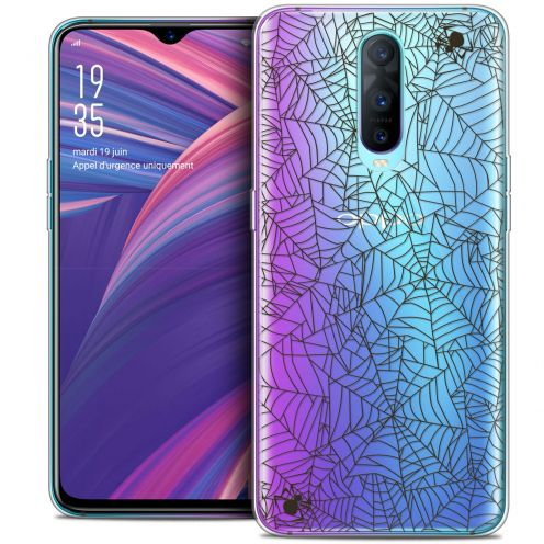 """Coque Crystal Gel Oppo RX17 Pro (6.4"""") Extra Fine Halloween - Spooky Spider"""