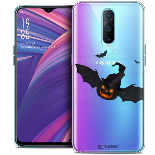 """Coque Crystal Gel Oppo RX17 Pro (6.4"""") Extra Fine Halloween - Chauve Citrouille"""