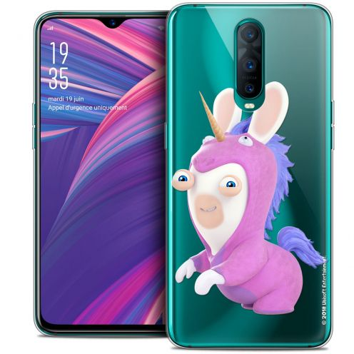 """Coque Gel Oppo RX17 Pro (6.4"""") Extra Fine Lapins Crétins™ - Licorne"""