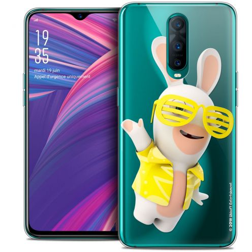 """Coque Gel Oppo RX17 Pro (6.4"""") Extra Fine Lapins Crétins™ - Sun Glassss!"""