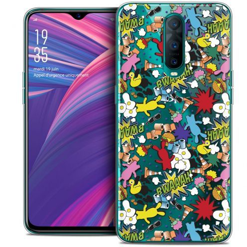 """Coque Gel Oppo RX17 Pro (6.4"""") Extra Fine Lapins Crétins™ - Bwaaah Pattern"""