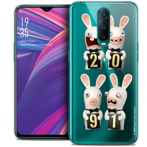 """Coque Gel Oppo RX17 Pro (6.4"""") Extra Fine Lapins Crétins™ - New Year"""