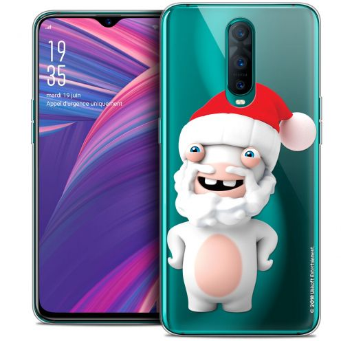 """Coque Gel Oppo RX17 Pro (6.4"""") Extra Fine Lapins Crétins™ - Lapin Noël"""
