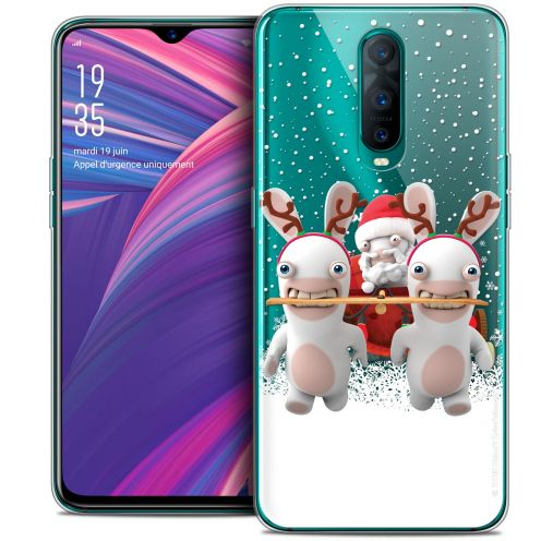 """Coque Gel Oppo RX17 Pro (6.4"""") Extra Fine Lapins Crétins™ - Lapin Traineau"""