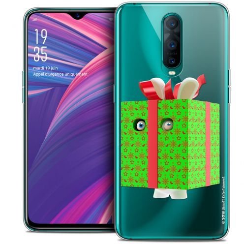 """Coque Gel Oppo RX17 Pro (6.4"""") Extra Fine Lapins Crétins™ - Lapin Surprise Vert"""