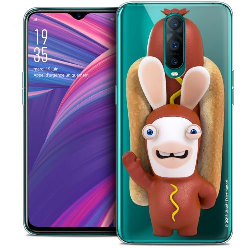 """Coque Gel Oppo RX17 Pro (6.4"""") Extra Fine Lapins Crétins™ - Hot Dog Crétin"""