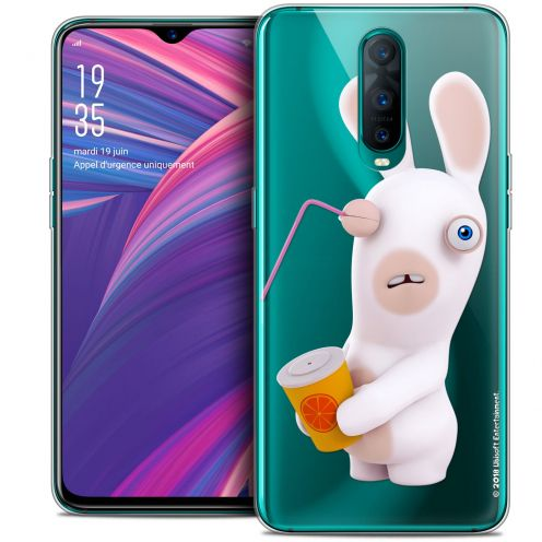 """Coque Gel Oppo RX17 Pro (6.4"""") Extra Fine Lapins Crétins™ - Soda Crétin"""
