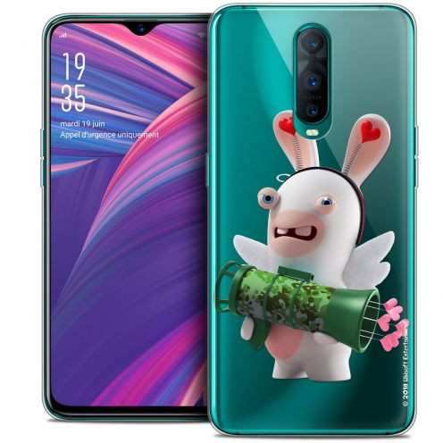 """Coque Gel Oppo RX17 Pro (6.4"""") Extra Fine Lapins Crétins™ - Cupidon Soldat"""