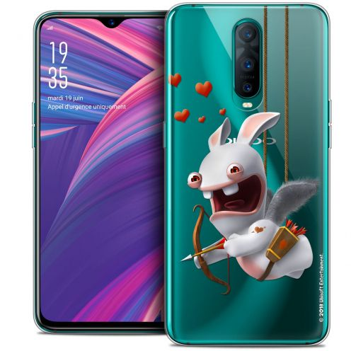 """Coque Gel Oppo RX17 Pro (6.4"""") Extra Fine Lapins Crétins™ - Flying Cupidon"""