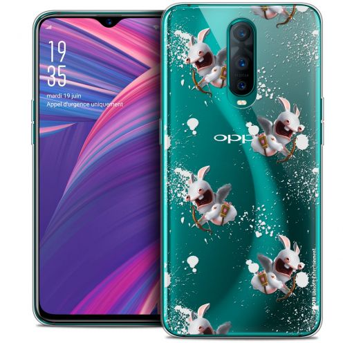 """Coque Gel Oppo RX17 Pro (6.4"""") Extra Fine Lapins Crétins™ - Cupidon Pattern"""