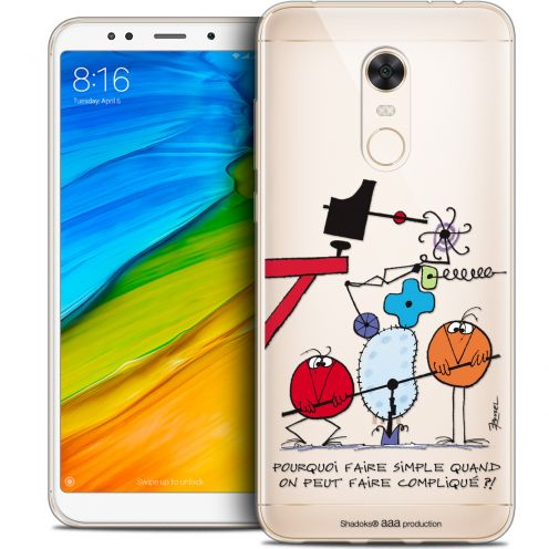 "Coque Gel Xiaomi Redmi 5 Plus (6"") Extra Fine Les Shadoks® - Pourquoi faire Simple"