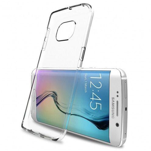 """Visuel unique de Coque Souple """"Crystal Clear"""" pour Samsung Galaxy S6 Edge+ / Plus"""