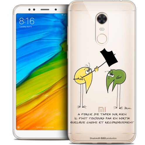"Coque Gel Xiaomi Redmi 5 Plus (6"") Extra Fine Les Shadoks® - A Force"