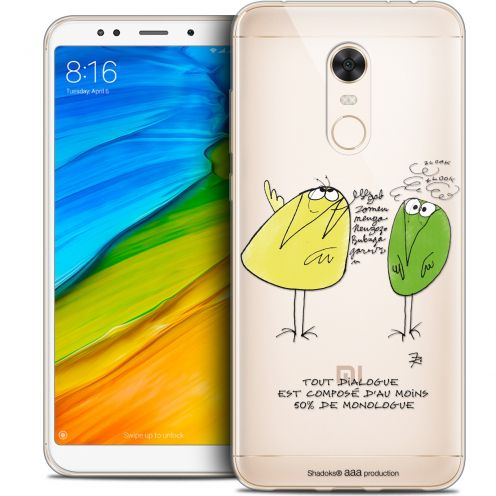 "Coque Gel Xiaomi Redmi 5 Plus (6"") Extra Fine Les Shadoks® - Le Dialogue"