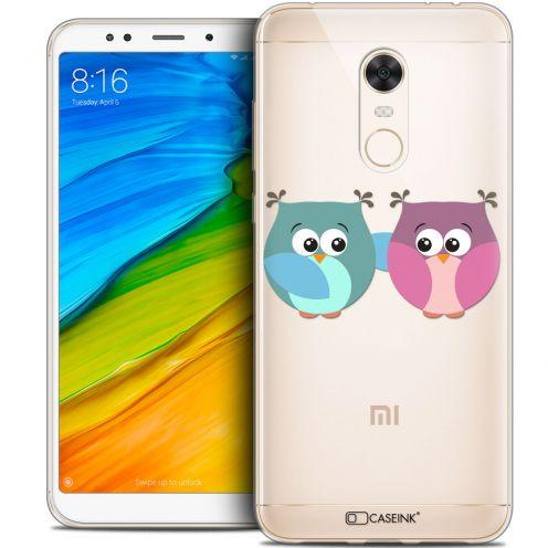 """Coque Crystal Gel Xiaomi Redmi 5 Plus (6"""") Extra Fine Love - Hibous à deux"""