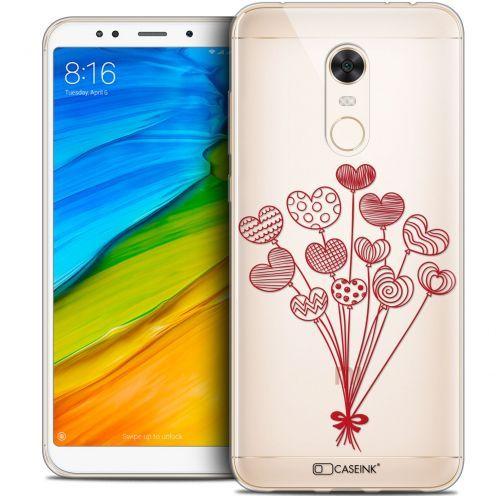 "Coque Crystal Gel Xiaomi Redmi 5 Plus (6"") Extra Fine Love - Ballons d'amour"