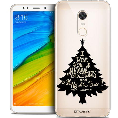 "Coque Crystal Gel Xiaomi Redmi 5 Plus (6"") Extra Fine Noël 2017 - XOXO Tree"