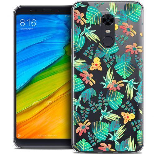 "Coque Crystal Gel Xiaomi Redmi 5 Plus (6"") Extra Fine Spring - Tropical"