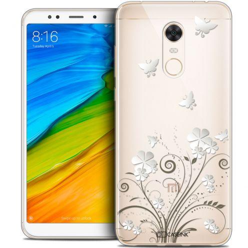 "Coque Crystal Gel Xiaomi Redmi 5 Plus (6"") Extra Fine Summer - Papillons"