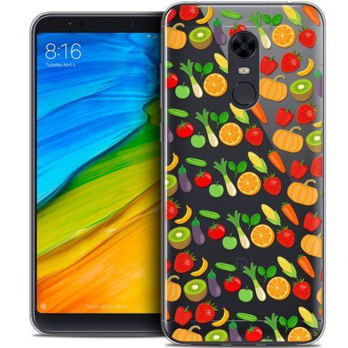 """Coque Crystal Gel Xiaomi Redmi 5 Plus (6"""") Extra Fine Foodie - Healthy"""