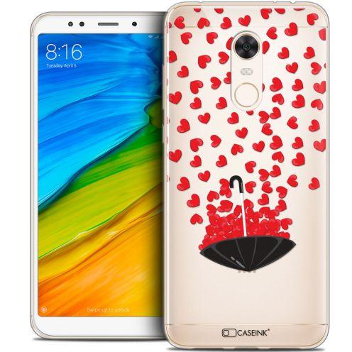 "Coque Crystal Gel Xiaomi Redmi 5 Plus (6"") Extra Fine Love - Parapluie d'Amour"
