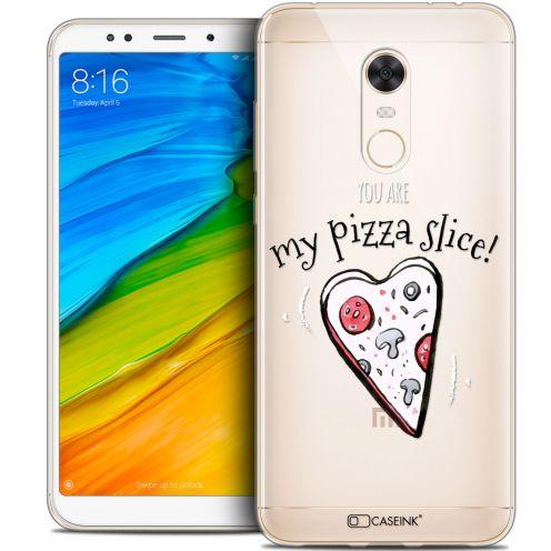 "Coque Crystal Gel Xiaomi Redmi 5 Plus (6"") Extra Fine Love - My Pizza Slice"