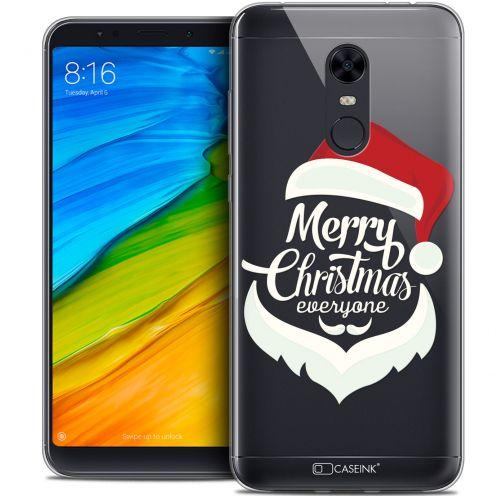 "Coque Crystal Gel Xiaomi Redmi 5 Plus (6"") Extra Fine Noël 2017 - Merry Everyone"