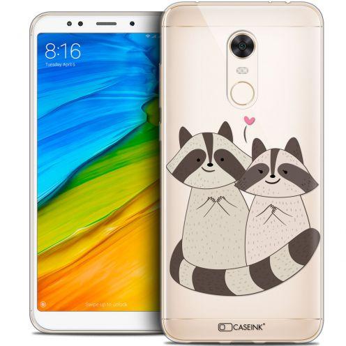 "Coque Crystal Gel Xiaomi Redmi 5 Plus (6"") Extra Fine Sweetie - Racoon Love"